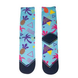 custom digital 3D Sublimation Print sock printing