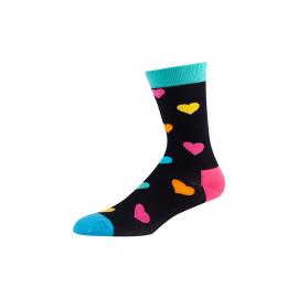 Custom Patterned Fashion Mens Colorful Dress Socks