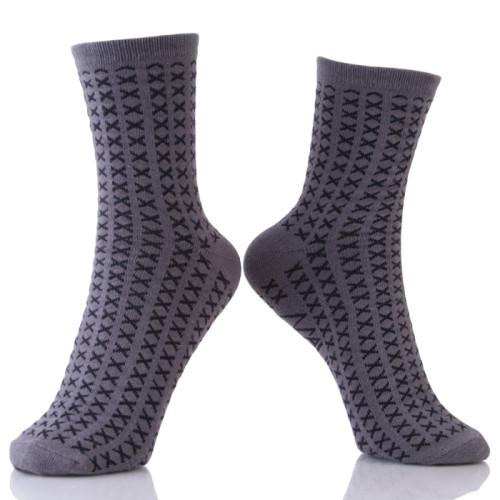Dark Gary Business Men Socks Breathable Casual Nylon Man Socks