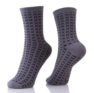 Dark Gary Business Men Socks Breathable Casual Nylon Man Socks