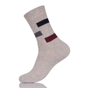 Summer Business Casual Men's Socks Breathable Mesh Quality Cotton Black Gray White Deodorant