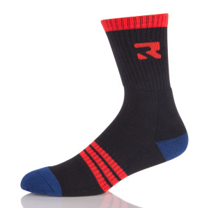 Men Logo Elite Basketball  Athletic Crew Socks Cushioned Breathable
