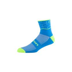 best biking Road Bicycle Socks navy blue hi vis thin bright cycling socks