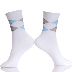 Solid Color Socks Cotton Men Fashion In Tube Socks Male Casual Business Breathable Socks