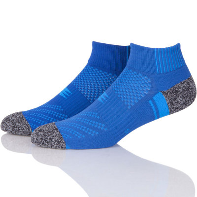 Professional Sport Breathable Mesh Terry Running Compression Socks