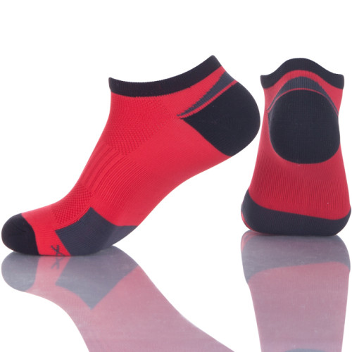Cushioned Compression Running Custom Athletic Boat Socks