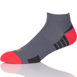Short Jacquard Anti Slip Outdoor Running Towel Cotton Sport Socks Men