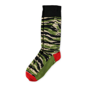 Cotton Men Socks Quality Business Camouflage Pattern Dress Male Crew Socks