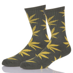 Color Cotton Hemp Sock Custom Logo Sport Sock