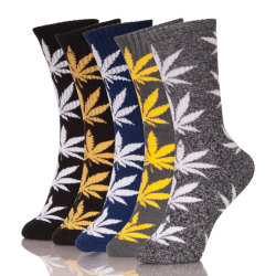 Custom Print Leaf Socks