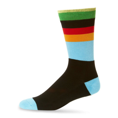 Combed Cotton Men's Socks Colorful Funny Long Warm Dress Socks For Male