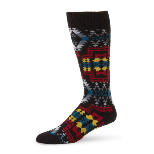 Fashion Socks Men Long Cartoon Socks Hiphop Street Sport Black Crew Socks