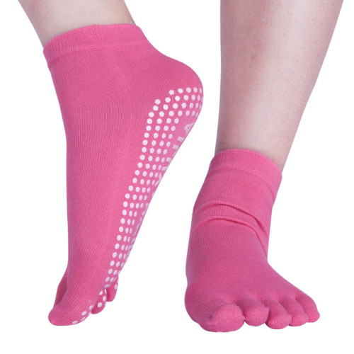 Low Cut Yoga Socks Anti-Slip Sole Grip Socks For Womens