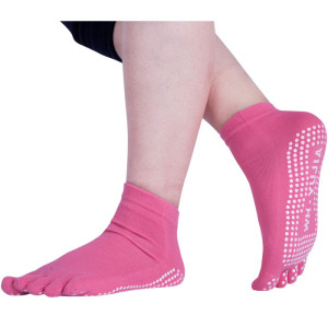 Low Cut Yoga Socks Anti-Slip Sole Grip Socks For Womens