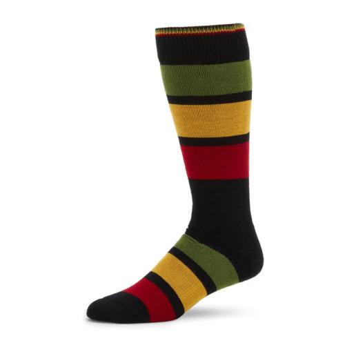 Dropshipping Men Socks Cotton Art Funny Novelty Stripe Socks Male