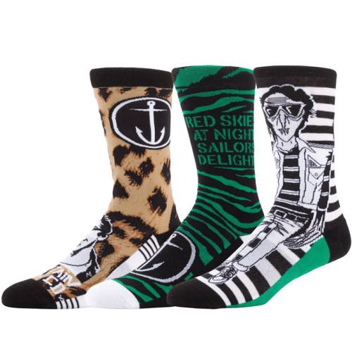Men's Cotton Funny Socks Creative Crazy Socks Men Dress Novelty Socks