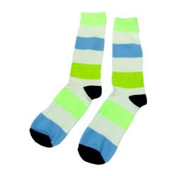 Green Funny Cute Women Cotton Crew Socks Female Fashion Popular