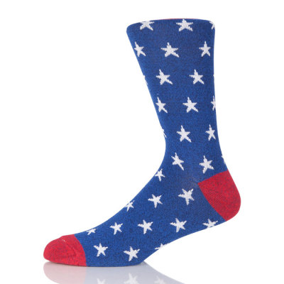 High Quality Men's Cotton Mens Socks Stars Socks Sport Compression Athletic Sock