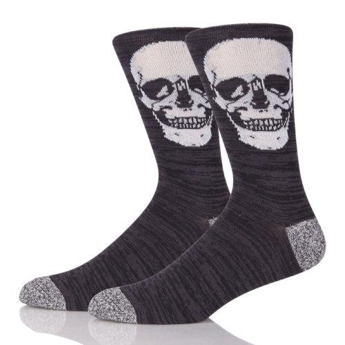 Custom Sock Manufacture Men Crazy Socks Funny Black Dress Sock For Man