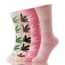 HUFNAGEL Maple leaf Wholesale Hemp Custom Socks OEM