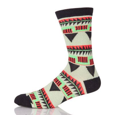 Factory Price Custom Colorful Classy Combed Cotton Men Socks Crazy Fun Dress Socks