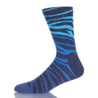 Hot Selling Cheap Colourful Ankle Custom Blue Tube Crew Socks Men