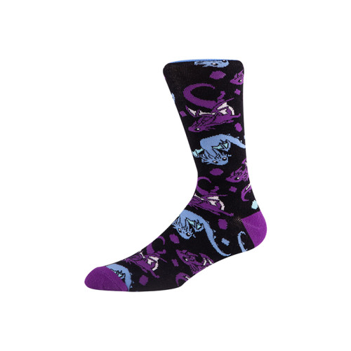 Men's and Women's colorful dress socks unisex , Fun Patterned