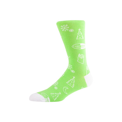 Custom Patterned Fashion Mens Socks Colorful