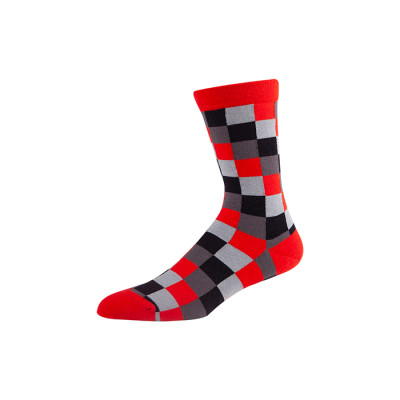 Wholesale Patterned Fashion Men's Dress Cool Colorful Socks