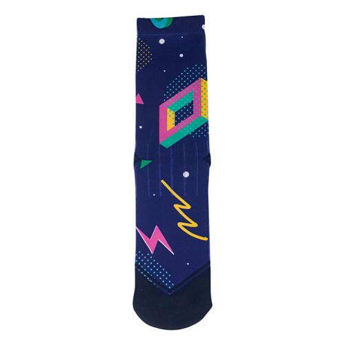 Custom Design Blank Crew Socks For Sublimation