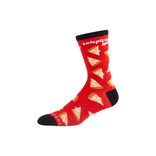 high quality print socks custom logo men dress socks