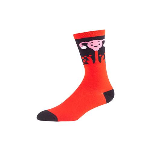 custom brand knee socks with custom logo