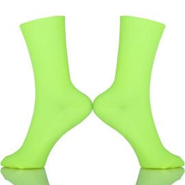 Cotton Short Low Cut Crew Women Socks In Tube Korean Green Blue Orange Pink