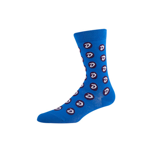 Cotton Fashion Patterned colorful custom logo knee dri fit socks