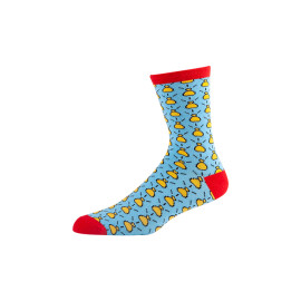 Cotton Fashion Patterned colorful custom logo knee dri fit socks