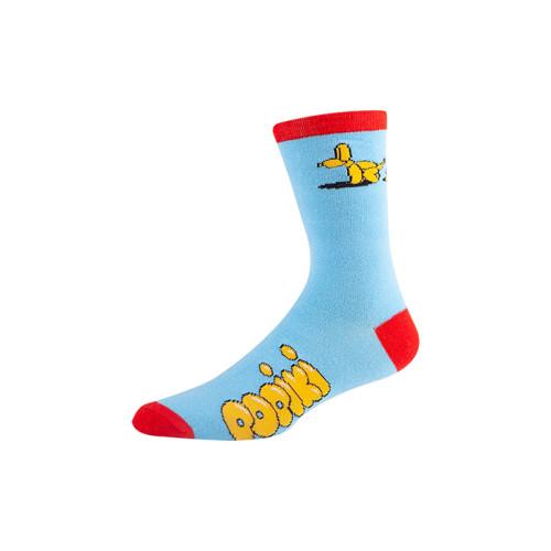 OEM Patterned mens women crew socks custom logo