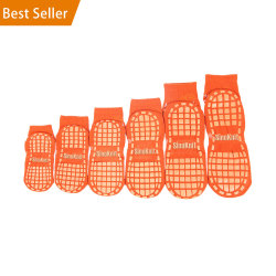 NO.1 RANK Customized Grip Safety Trampoline Socks