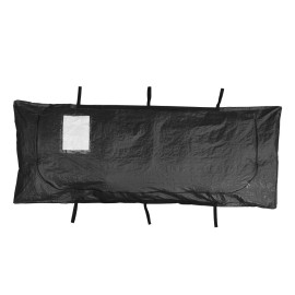 Newest Black Polyethylene Cadaver Bag ,Waterproof Dead Body Bag