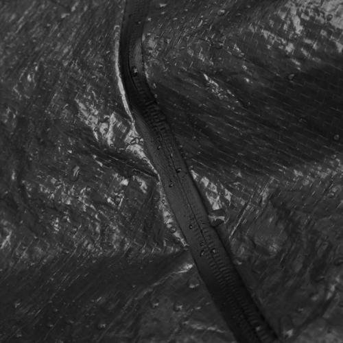 Newest Black Polyethylene Cadaver Bag ,Waterproof Dead Body Bag