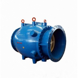 HS Series Cast Iron Motorized Water Flow Control Plunger Valve