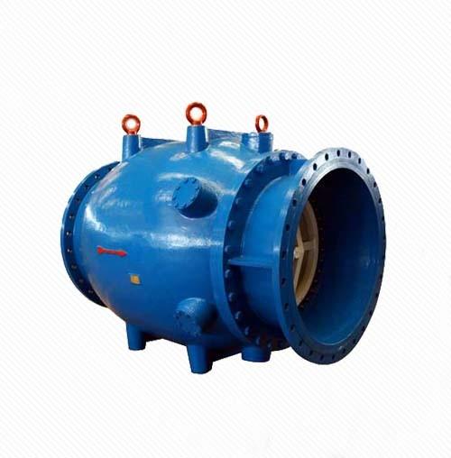 HS Series Cast Iron Motorized Water Flow Control Plunger Valve