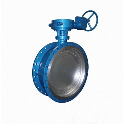 Large Diameter Double Sealing Surface Butterfly Valve