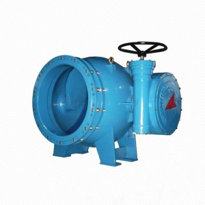 Metal Seal flabelliform offset motorized ball valve