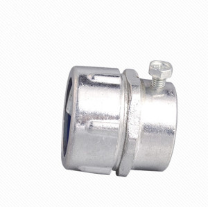 MKJ Aluminum metal plum male conduit connector