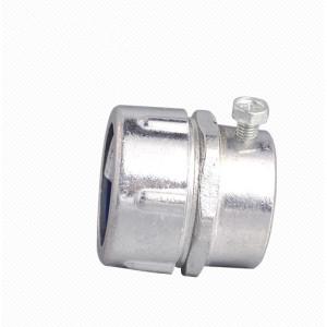 MKJ Aluminum metal plum male conduit connector