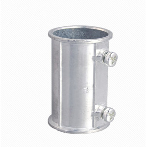 Zinc alloy quick EMT coupling
