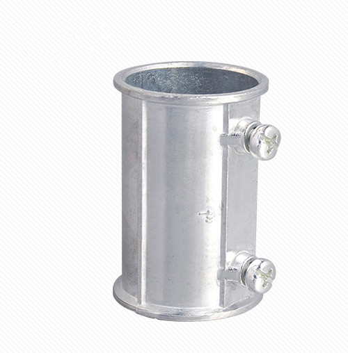 Zinc alloy quick EMT coupling