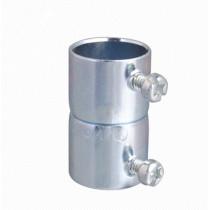 Steel alloy quick EMT coupling
