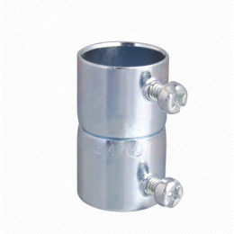 Steel alloy quick EMT coupling