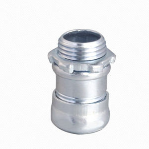 Steel Alloy CCN-S Type EMT Compression Conduit Conector
